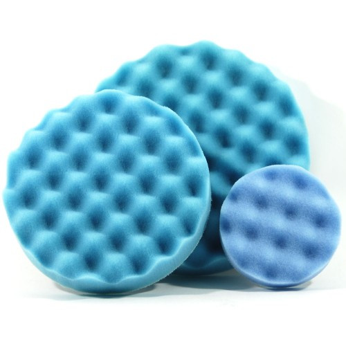 Optimum Waffle Foam Pad: Blue (Softest Finishing)
