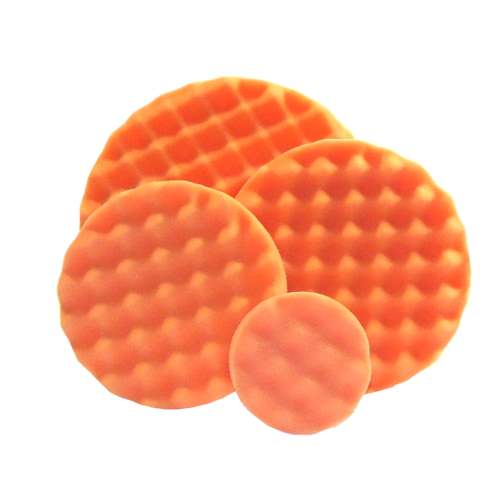 Optimum Waffle Foam Pad: Orange (Firmest Cutting)