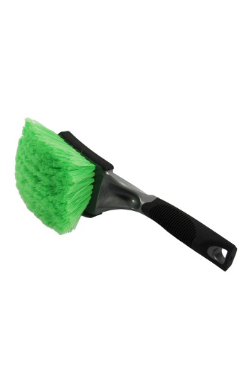 Optimum Green Wheel and Body Brush