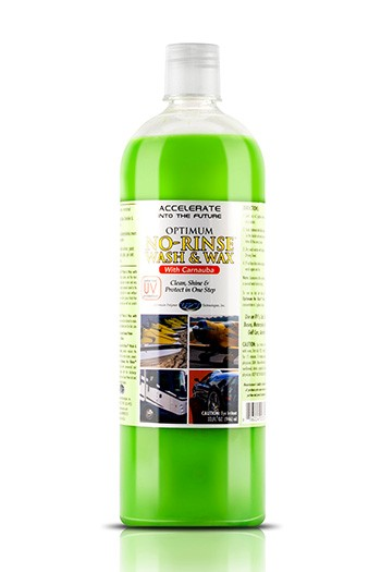 Optimum No Rinse Wash & Wax (GREEN)