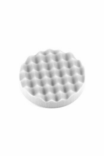 Optimum Waffle Foam Pad: White (Cutting & Polishing)